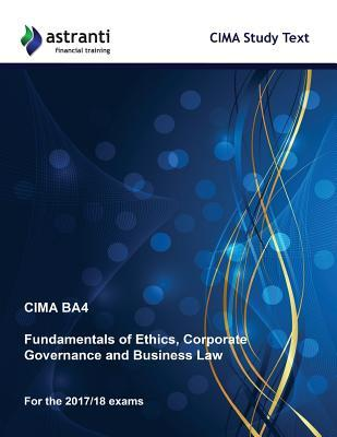 Cima Ba4 Fundamentals of Ethics, Corporate Governance and Business Law Study Text