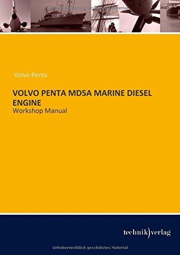 VOLVO Penta MD5A MARINE DIESEL ENGINE: Workshop Manual