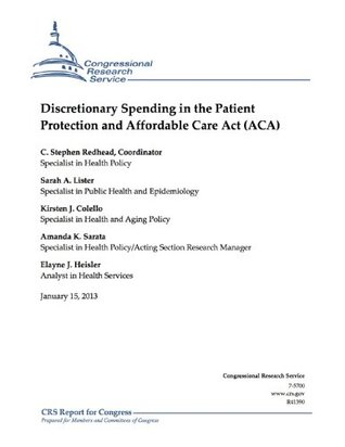 Discretionary Spending in the Patient Protection and Affordable Care Act