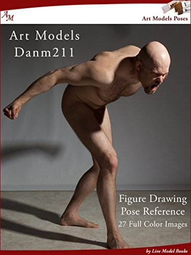 Art Models DanM211: Figure Drawing Pose Reference