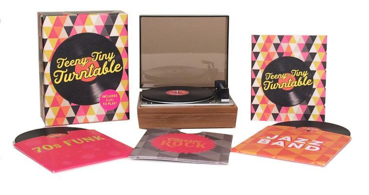 Teeny-Tiny Turntable: Includes 3 Mini-LPs to Play!