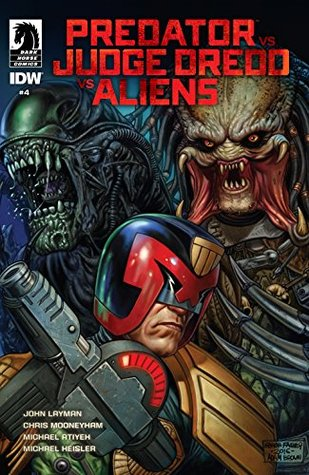 Predator vs. Judge Dredd vs. Aliens #4