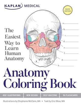 Anatomy Coloring Book por Stephanie McCann, Eric Wise