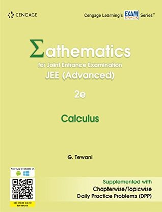 Mathematics for joint entrance examination jee advanced calculus by mathematics for joint entrance examination jee advanced calculus by ghanshyam tewani fandeluxe Image collections