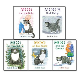Judith Kerr Mog the Cat Series Collection 5 Books Bundle (Mog and the Baby, Mog's Bad Thing, Mog the Forgetful Cat, Mog on Fox Night, Mog and the Granny (Mog the Cat Books))