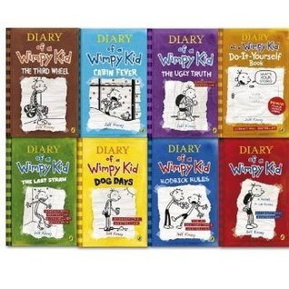 Diary of a Wimpy kid collection 8 Books set, Diary of a Wimpy Kid The Third W...