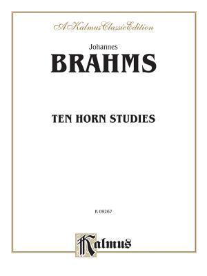 Ten Horn Studies, Op. Posth