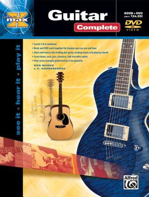 Alfred's Max Guitar Complete: See It * Hear It * Play It, Book & DVD