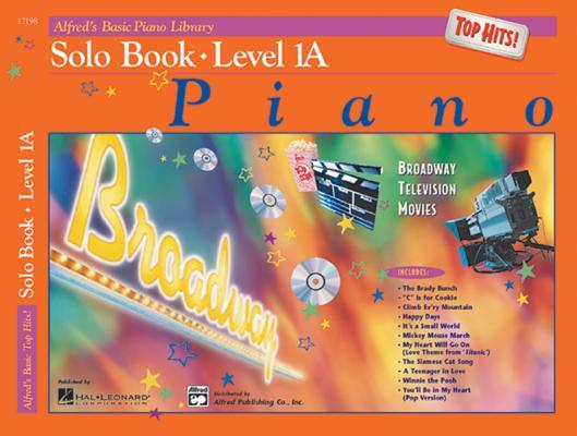 Alfred's Basic Piano Library Top Hits! Solo Book, Bk 1a: Book & CD