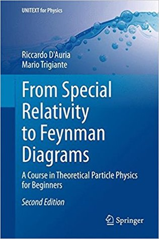 From Special Relativity to Feynman Diagrams: A Course in Theoretical Particle Physics for Beginners