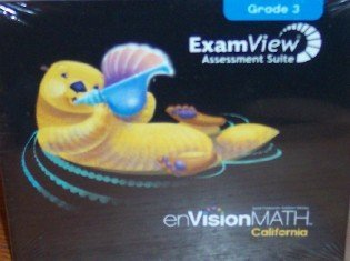 Envisionmath California ExamView Assessment Suite, Grade 3