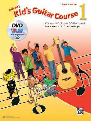 Alfred's Kid's Guitar Course 1: The Easiest Guitar Method Ever!, Book, DVD & Online Audio, Video & Software