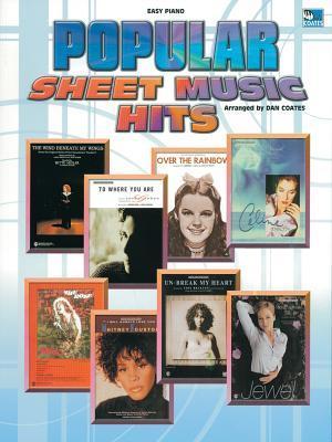 Popular Sheet Music Hits. Arranged by Dan Coates