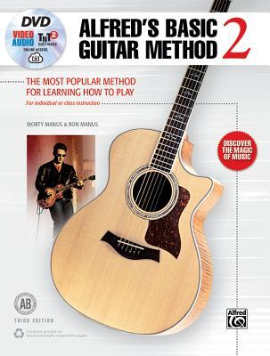 Alfred's Basic Guitar Method, Bk 2: The Most Popular Method for Learning How to Play, Book, DVD & Online Audio, Video & Software