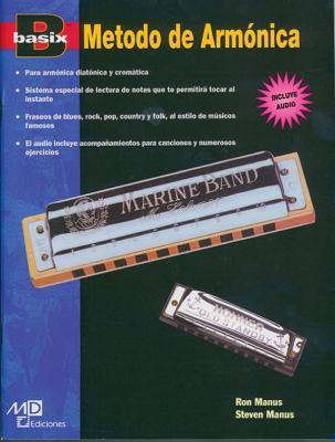 Basix Harmonica Method: Spanish Language Edition, Book & CD