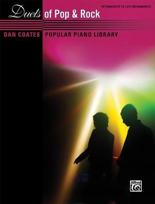 Dan Coates Popular Piano Library -- Duets of Pop & Rock