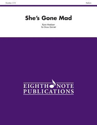 She's Gone Mad: Score & Parts