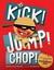 Kick! Jump! Chop! The Adventures of the Ninjabread Man by Heather Ayris Burnell