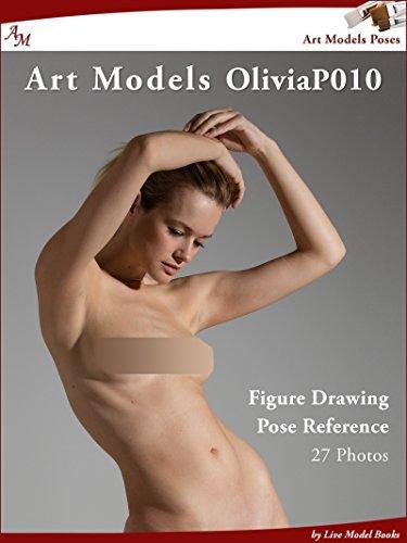 Art Models OliviaP010: Figure Drawing Pose Reference