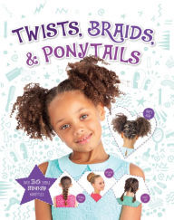 Image result for twists braids and pony tails book