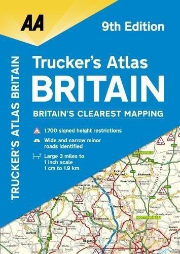 AA Truckers Atlas Britain (AA Road Atlas)