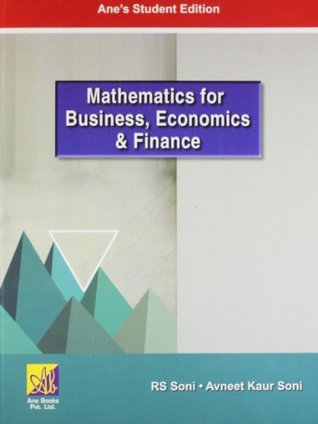 Mathematics for Business, Economics and Finance