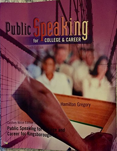 Public Speaking for College and Career 10th Edition