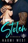 STOLEN: A Dark Bad Boy Baby Romance (The Vanguard MC)