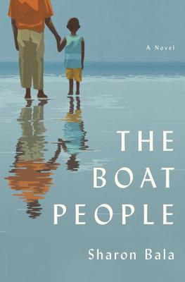 book cover shows a parent holding a child's hand by the sea shore.