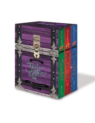 Treasures of the Isle of the Lost [3-Book Hardcover Boxed Set + Poster]