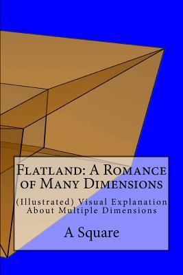 Flatland: A Romance of Many Dimensions: (Illustrated) Visual Explanation about Multiple Dimensions