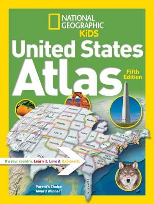 National Geographic Kids United States Atlas 5th edition