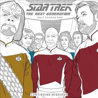 Star Trek: The Next Generation Adult Coloring Book - Continuing Missions