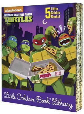 Ebooks allemands téléchargement gratuit Teenage Mutant Ninja Turtles Little Golden Book Library (Teenage Mutant Ninja Turtles) 1524764116 PDF DJVU FB2