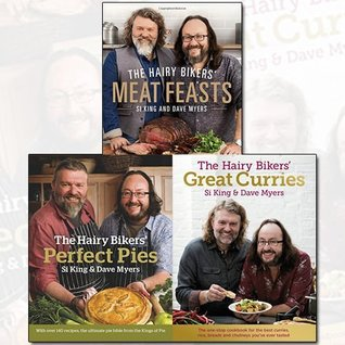 Hairy Bikers Recipes Collection 3 Books Bundle (The Hairy Bikers' Meat Feasts: With Over 120 Delicious Recipes - A Meaty Modern Classic,The Hairy Bikers' Perfect Pies: The Ultimate Pie Bible from the Kings of Pies,The Hairy Bikers' Great Curries)