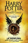 Book cover for Harry Potter and the Cursed Child - Parts One and Two Playscript