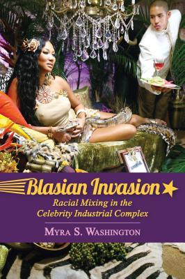 Book cover showing a celebrity Blasian couple in a luxurious lounge room.