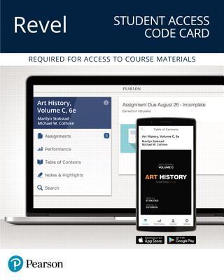 Revel for Art History, Volume C -- Access Card