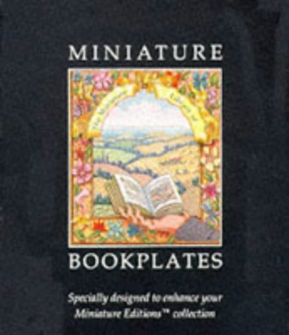 Miniature Bookplates: 24 Full-Color Book Plates Gift Boxed