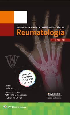 Manual Washington de Especialidades Clinicas. Reumatologia, 2e