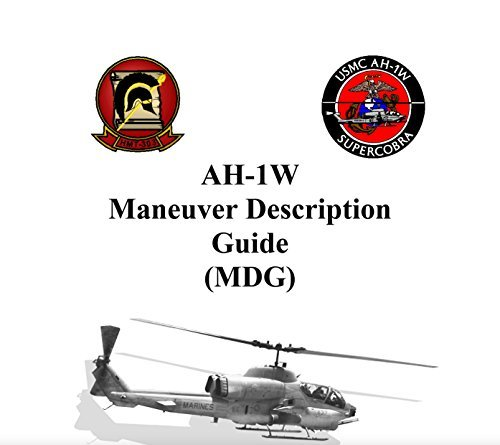 U.S. Marine Corps AH-1W Cobra UH-1N Huey Helicopter Maneuver Description Guides (MDG) Combined: NATOPS Flight Manual Supplements
