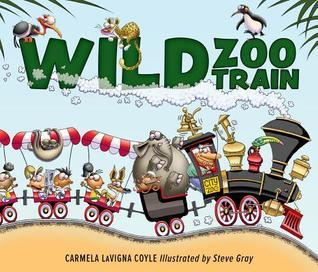 Wild Zoo Train by Carmela LaVigna Coyle