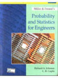 Miller & Freunds Probability And Statistics For Engineers