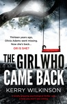 The Girl Who Came Back by Kerry Wilkinson audiobook