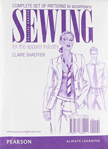 Patterns for Sewing for the Apparel Industry