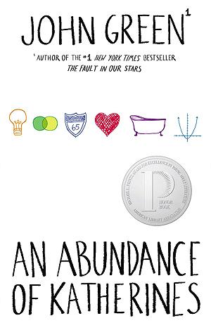 An Abundance Of Katherines By John Green 2 Star Ratings