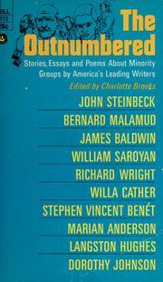 The Outnumbered: Stories, Essays and Poems About Minority Groups by America's Leading Writers