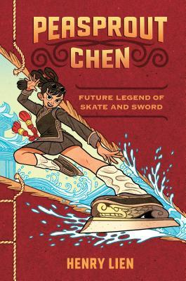 book cover showing a skating champion