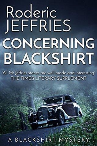 Concerning Blackshirt by Roderic Jeffries