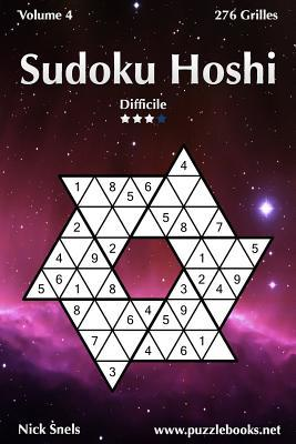 Sudoku Hoshi - Difficile - Volume 4 - 276 Grilles par Nick Snels